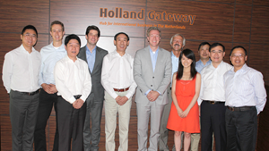 Meeting Shanghai Airport Authority, Naco en Holland Gateway